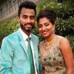 Ritu Rani with her fiance