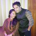 Ritu Seth with her husband