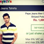 Rohit Khandelwal modelling for Myntra