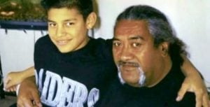 Roman Reigns' Childhood Photo With His Father