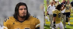 Roman Reigns - Georgia Tech Yellow Jackets