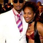 Rozonda Chilli Thomas with Usher