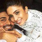 Salman Yusuff Khan with his wife