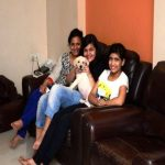 Saloni Daini with her family