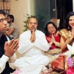 Sambhavna Seth with her family