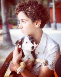 Sanya Malhotra, an animal lover