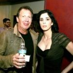 Sarah Silverman with her Ex-boyfriend Garry Shandling