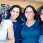 Sarah Silverman with her sisters