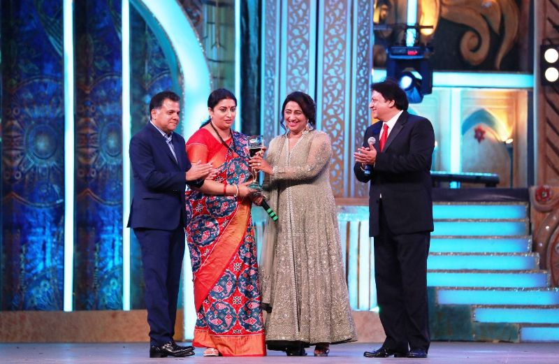 Smriti Irani At The 2017 ITA Awards
