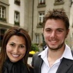 Stan Wawrinka with former wife