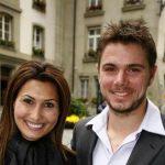 Stan Wawrinka with former wife