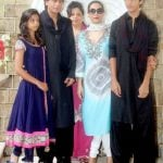 Suhana Khan with her family