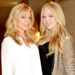 Tiffany Trump with her mother Marla Maples