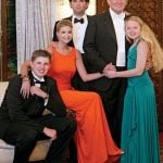 Tiffany Trump with her siblings