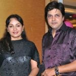 Upasana Singh with her husband