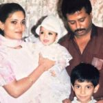 Vikrant Massey childhood photo with his family