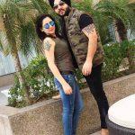 Vishavpreet Kaur with Jagmeet Singh