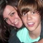 Justin Bieber With His Ex-Girlfriend Caitlin Beadles