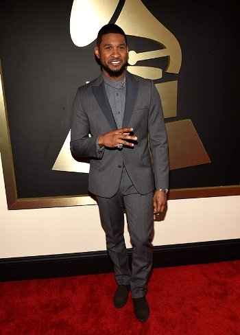 Usher on Red Carpet