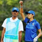 Aditi Ashok with her father
