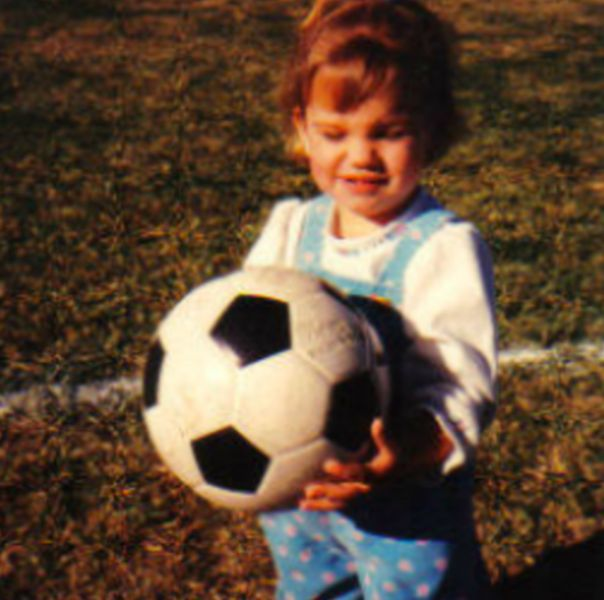 Alex Morgan In Her Childhood