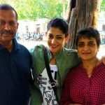 Ashwini Ponnappa with Parents