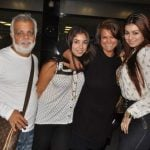 Ayesha Takia with her family