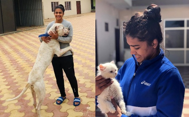 Babita Kumari Phogat loves animals