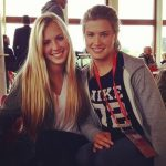 Beatrice Bouchard with Genie
