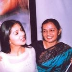 Bhumika Chawla with her mother