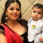 Bhumika Chawla with her son