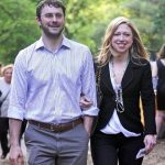 Chelsea Clinton with her husband Marc Mazvinsky