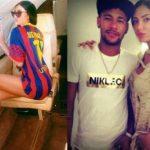 Neymar and Gabriella Lenzi