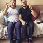 Finn Balor with Father