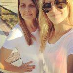 Genie Bouchard with Mother