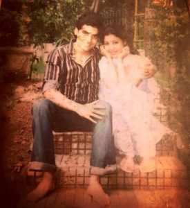 Gurmeet Choudhary and Debina Bonnerjee during younger days