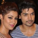 Gurmeet Choudhary with his wife Debina Bonnerjee