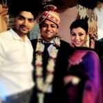 Gurmeet Choudhary with his wife Debina Bonnerjee and brother Gangaram Choudhary