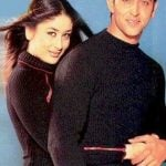 Kareena Kapoor with Hrithik Roshan