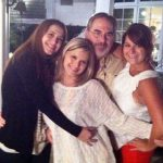 Kate Bolduan (center) with her father & 2 sisters
