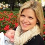 Kate Bolduan with her daughter