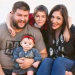 Kevin Owens with family