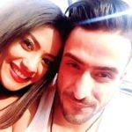Krishna Mukherjee with Aly Goni