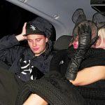 Laday Gaga with Mathew Dada William