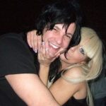Lady gaga with Luc Carl