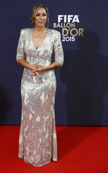 Leona Lewis at FIFA Ballon 2015