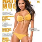 Lisa Morales on the cover of Natural Muscle