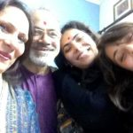 Maanvi Gagroo with her family