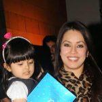 Mahima Chaudharys with daughter Adriana