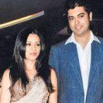 Mahima with her huband Bobby
